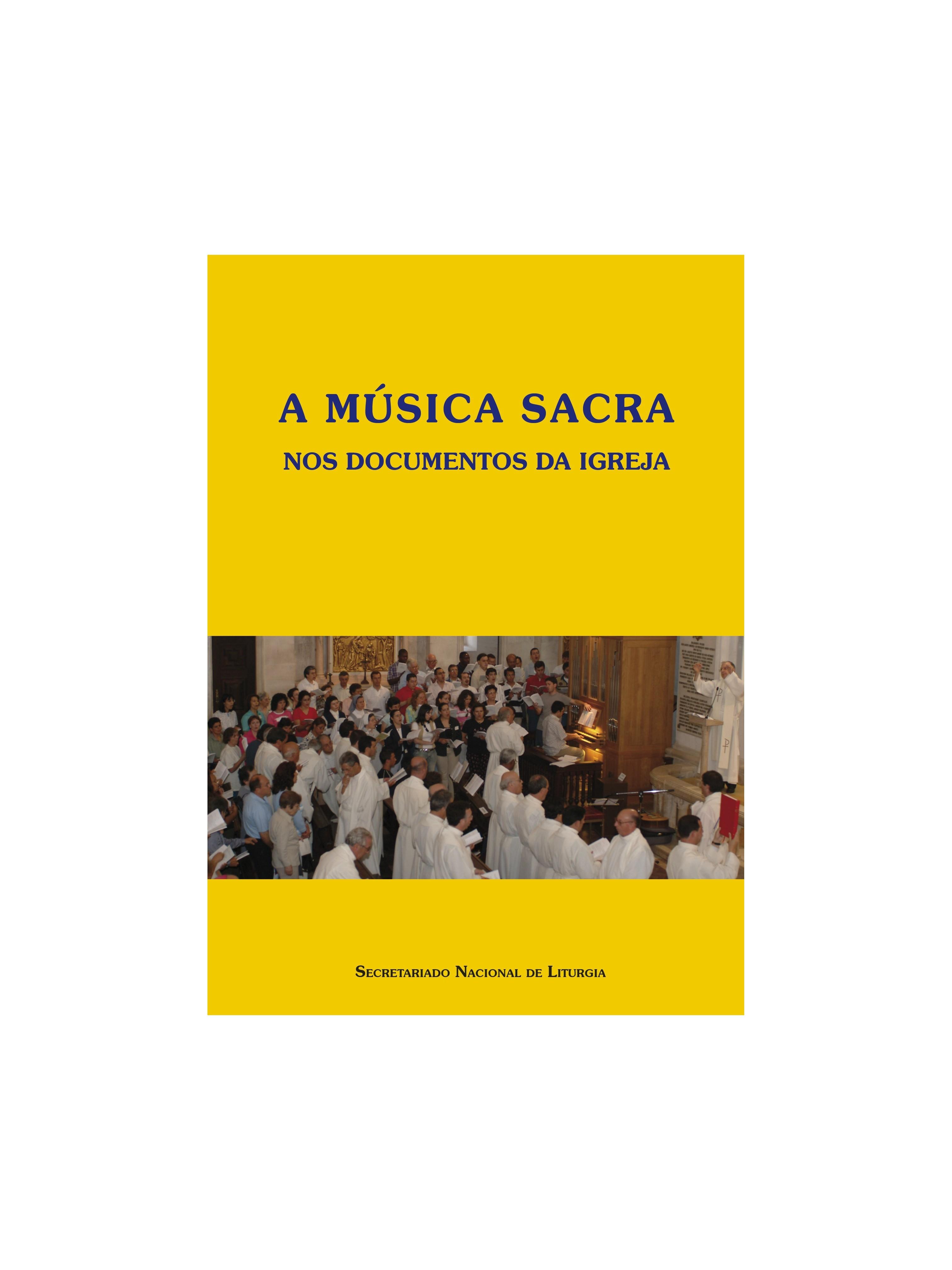 A música sacra nos documentos da Igreja