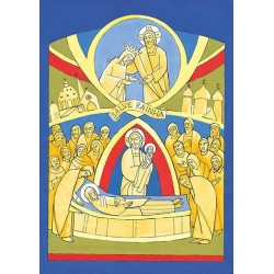 Poster: Assunção  da virgem Maria