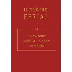 Leccionário Ferial (VI): Tempo Comum – Anos Pares