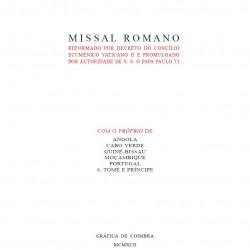 Missal Romano (Vermelho)