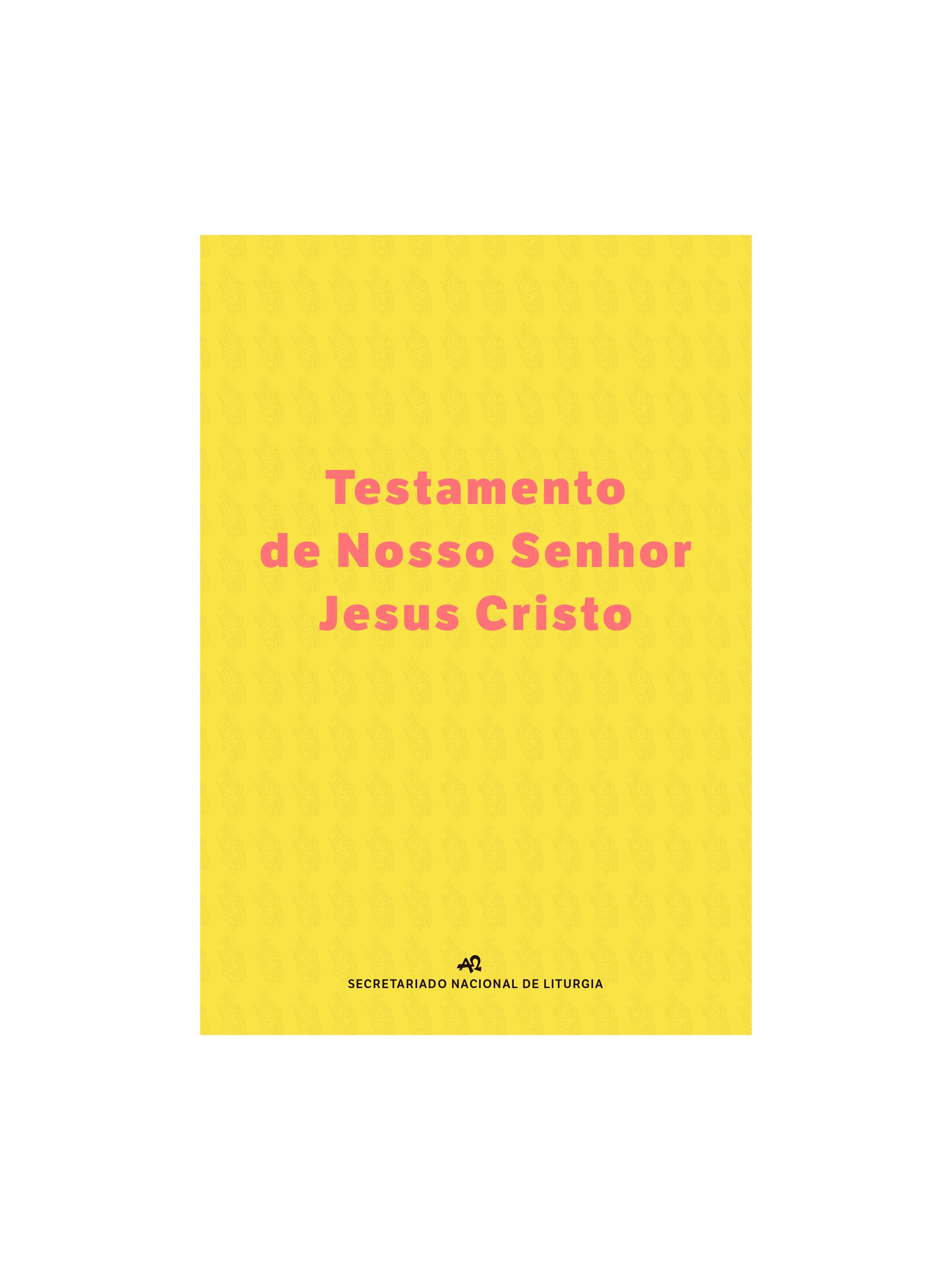 Testamento do Senhor