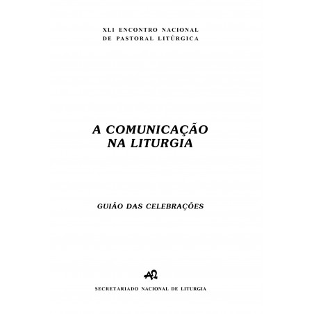 Encontro Nacional de Pastoral Litúrgica (guiões)